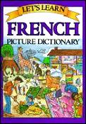 Lets Learn French Picture Dictionary