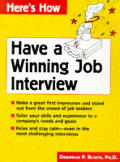 Have A Winning Job Interview