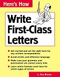 Write First Class Letters