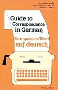 Guide To Correspondence In German Korresponden