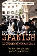 Streetwise Spanish Dictionary Thesaurus