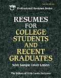 Resumes For College Students & Recent Gr