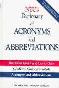 Ntcs Dictionary Of Acronyms & Abbreviations