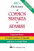 Ntcs Dictionary Of Common Mistakes In Spanish