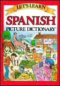 Lets Learn Spanish Picture Dictionary