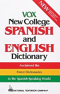 Vox New College Spanish and English Dictionary (National Textbook Language Dictionaries)