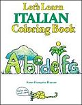 Let's Learn Italian Coloring Book