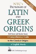 NTCs Dictionary of Latin & Greek Origins