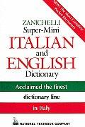 Zanichelli Super Mini Italian & English Dictionary