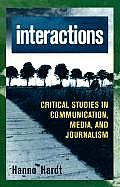 Interactions (Critical Media Studies) Cover