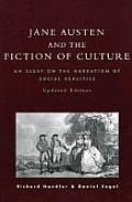 jane austen and the fiction of culture cover