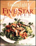Five Star Recipes: The Best of 10 Years (Cooking Light) Cover