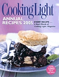 Cooking Light Annual Recipes 2005 Cover