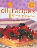 Allrecipes 30 Minutes To Cook