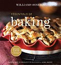 Essentials of Baking: Recipes and Techniques for Succcessful Home Baking (Williams-Sonoma Essentials) Cover
