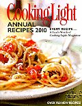 Cooking Light Annual Recipes 2010 (Cooking Light Annual Recipes) Cover