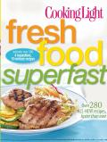 Fresh Food Superfast (Cooking Light) Cover
