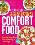 3-Step Express: Comfort Food: Hearty Favorites for Weeknight Cravings