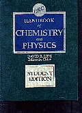 Crc Handbook Of Chemistry & Physics 76th Edition Stu