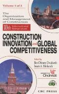 Conference Proceedings for the 10th Syposium Construction Innovation and Global Competitiveness