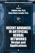 Recent Advances in Artificial Neural Networks Design and Applications (00 Edition)