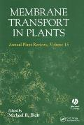 Membrane Transport in Plants Cover