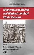 Mathematical Models and Methods for Real World Systems