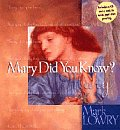 Mary Did You Know? with CD (Audio)