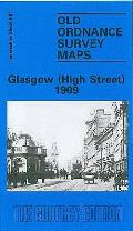 Glasgow (High Street) 1909: Lanarkshire Sheet 6.11