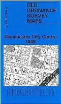 Manchester City Centre 1849: Manchester Sheet 28