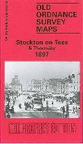 Stockton-on-tees and Thornaby 1897: Durham Sheet 50.16