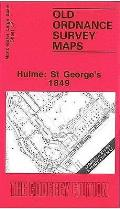 Hulme: ST.george's 1849: Manchester Sheet 37