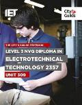 Level 3 NVQ Diploma in Electrotechnical Technology 2357: Unit 309