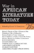 War in African Literature Today (African Literature Today)
