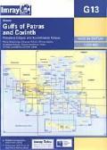 Imray Chart G13: Gulf of Patras and Corinth