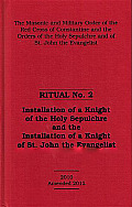 Red Cross of Constantine Ritual No.2