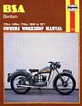 BSA Bantam Owners Workshop Manual: 123cc 148cc 174cc 1948-1971 (Haynes Repair Manual)