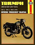 Triumph 350 and 500 Unit Twins Owners Workshop Manual, No. 137: '58-'73
