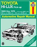 Toyota Hi-Ace and Hi-Lux owners workshop manual :models covered, covers all models of the Hi-Lux range fitted with the 8R-C, 18R-C, 20R or 12R engine, and the Hi-Ace range fitted with the 12R or 18R e