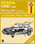 Haynes Honda Civic 1200, 1300 Manual No. 160: 1973-1979