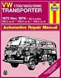 Haynes VW Transporter 1700, 1800 and 2000 Owners Workshop Manual: 1972-1979 (Haynes VW Transporter 1700, 1800 &amp; 2000 Owners Workshop Manu)