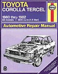 Toyota Tercel owners workshop manual