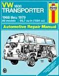 Haynes VW Transporter 1600 Owners Workshop Manual #082: Haynes VW Transporter 1600 Owners Workshop Manual: 68-79