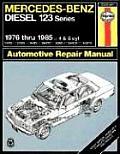 Mercedes Benz Diesel 123 Series 1976 Thru 1985 4 & 5 Cyl Haynes