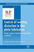 Control of Welding Distortion in Thin-Plate Fabrication: Design Support Exploiting Computational Simulation (Series in Welding and Other Joining Technologies)