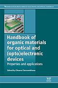 Handbook of organic materials for optical and (opto)electronic devices; properties and applications
