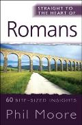 Straight to the Heart of Romans: 60 Bite-Sized Insights