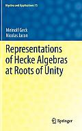 Representations of Hecke Algebras at Roots of Unity