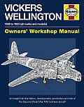 Vickers Wellington 1936 to 1953 All Marks & Models Owners Workshop Manual An Insight Into the History Development Production & Role of the Second World War RAF Bomber Aircraft