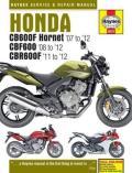 Honda CB600F Hornet, CBF600 & CBR600F Service and Repair Manual
